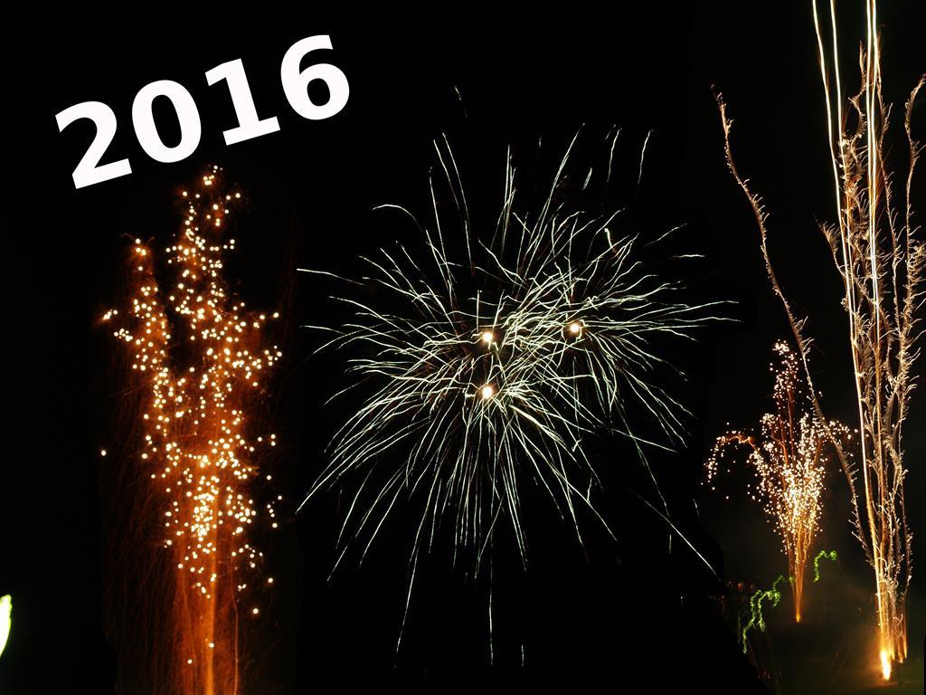 Wir wünschen Euch ein gesundes und erfolgreiches neues Jahr 2016 ...